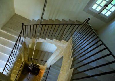 Escalier d'hiver