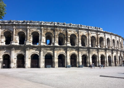 Les Arènes de Nîmes, classées Monument Historique