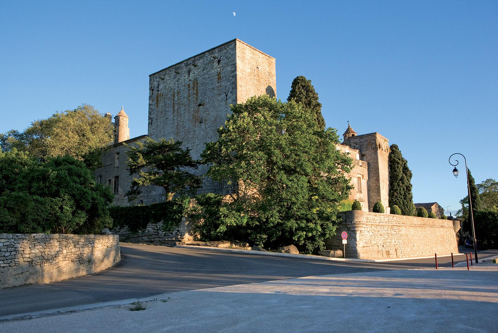 Vue extérieure du Château de Villevieille